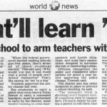 armed school teachers